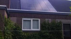 20 zonnepanelen te Nieuw Amsterdam