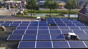 124 zonnepanelen te Nieuw Amsterdam