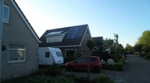 14 zonnepanelen te Emmen (rietlanden)